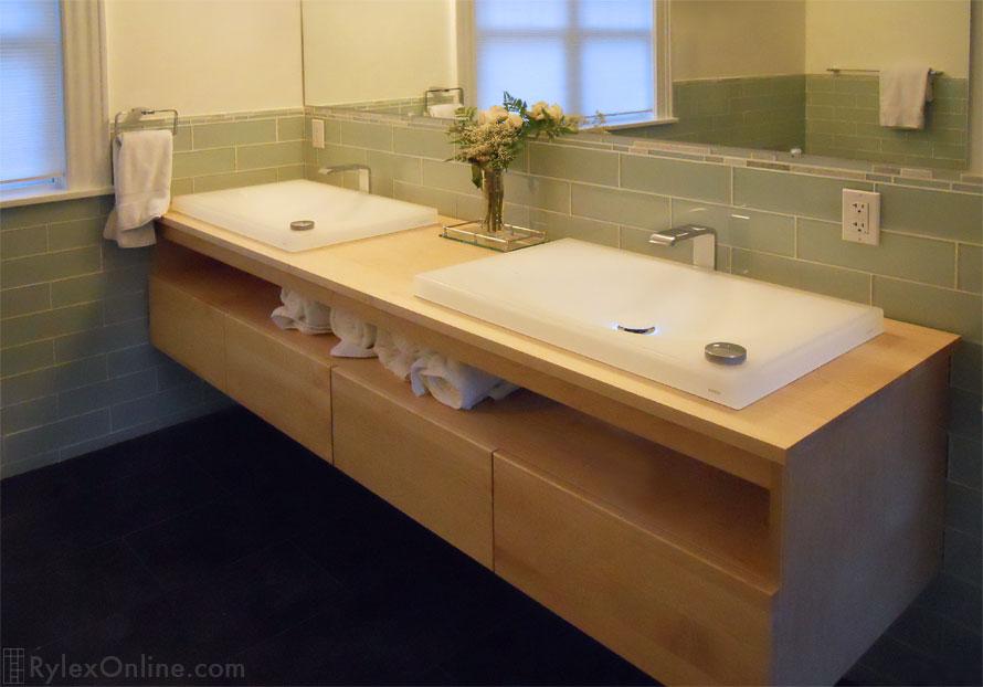 Wall Mounted Bath Vanity