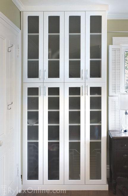 Wardrobe Wall | Older Homes Closet Space | Campbell Hall, NY