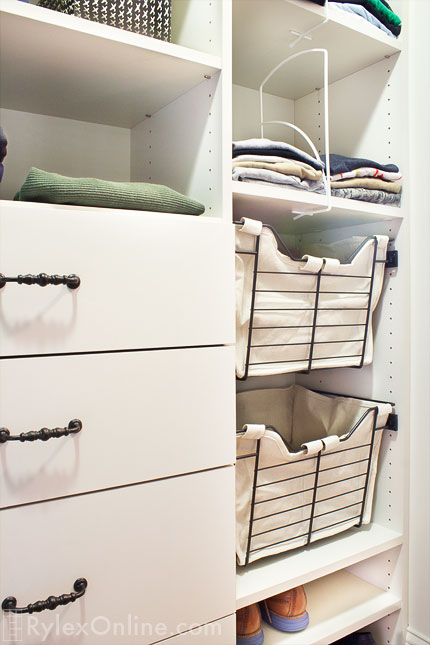 Sidelines Wire Baskets Sliding Closet Baskets Warwick Ny