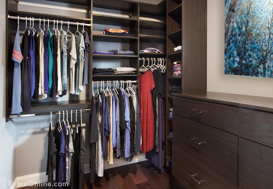 ... Built In Closet Bureau