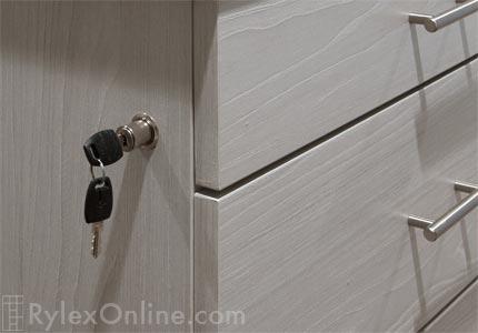 Spacious Closet Closet Island With Bench Locking Drawers Warwick Ny