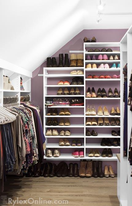 Walkin Closet Odd Shaped Space Goshen Ny
