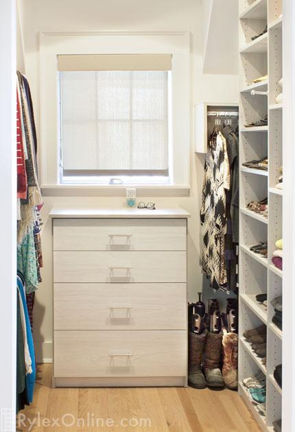 Light Grey Compact Closet ...