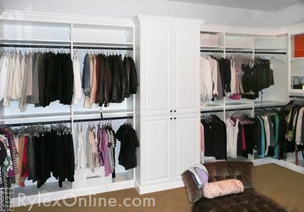 Custom Walk In Closet Dressing Room Warwick Ny