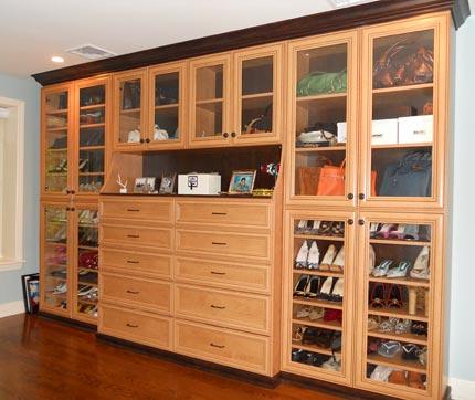 Women S Dressing Room Closet Cabinets