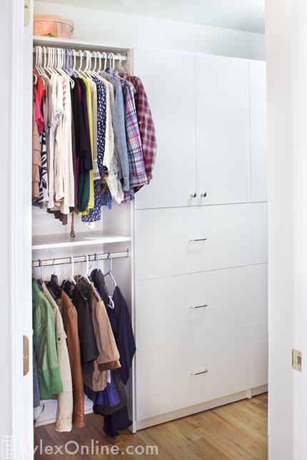 Awkward Angled Closet Odd Shaped New City Ny Warwick