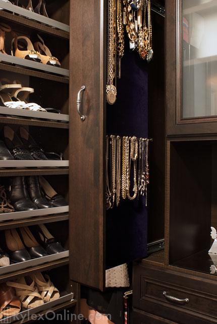 Narrow Jewelry Cabinet Necklace Storage Slim Profile Cabinet Warwick Ny