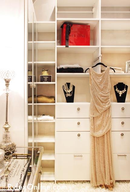 Glamorous Master Closet Warwick Rylex Custom Cabinetry