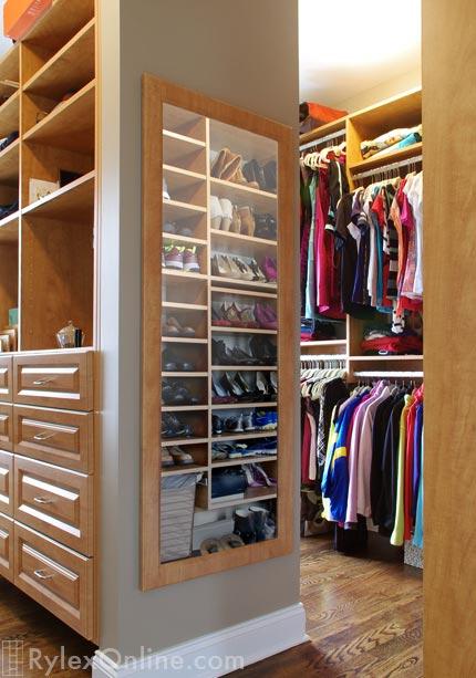 Closet On Short Wall, Matching Full Length Closet Mirror
