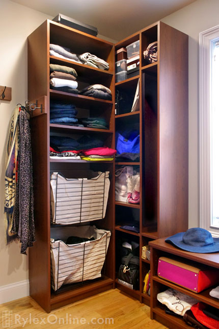 Rollover Image, Sliding Bedroom Closet With Removable Liners