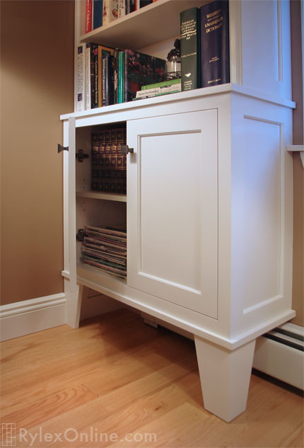 Shaker Style Bookcase Cabinet