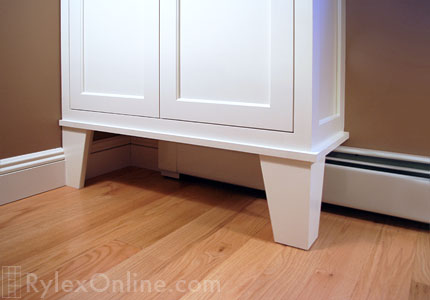 Bookcase Cabinet Feet