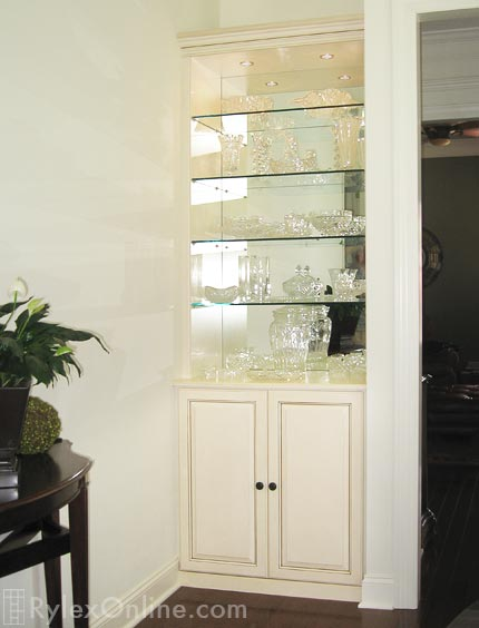 Custom Built in Display Collectibles Cabinets   Hudson Valley, NY