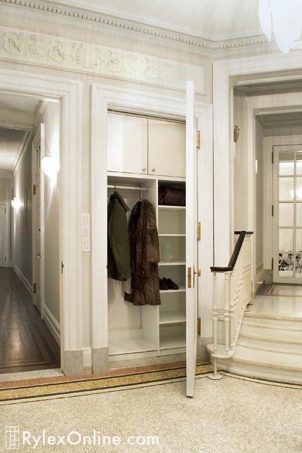 Hallway Entry Closet, Entryway Closet