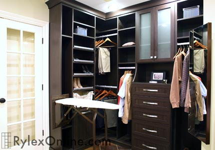 Closet Foldaway Ironing Board