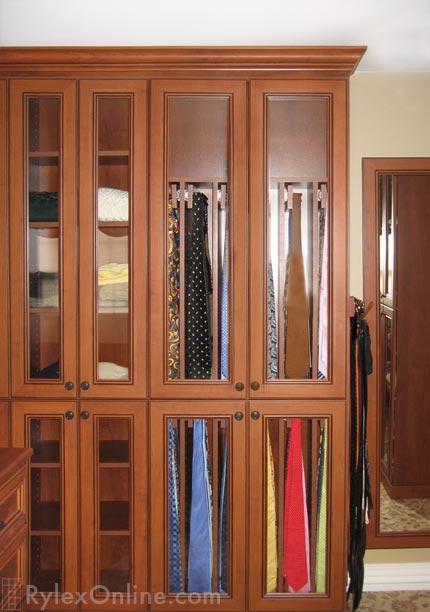 rylex custom closet tie rack 250 custom closet tie cabinet