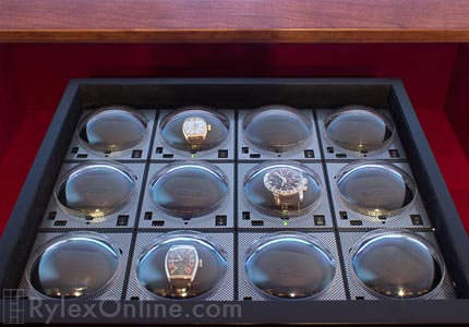 Interlocking Watch Winder Drawer Automatic Watches