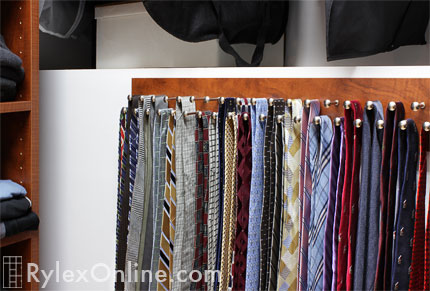 Closet Tie Amp Belt Racks Scarf Rack Sliding Racks