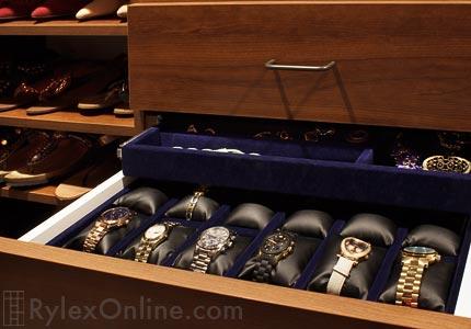 Watch Drawer For Custom Closet Tuxedo Ny Watch