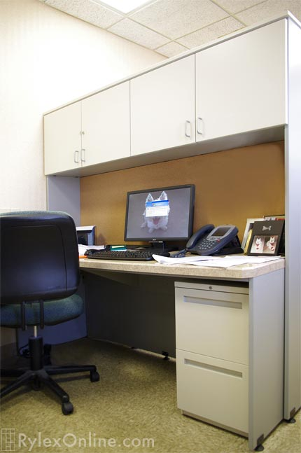 Commercial Office Cubicles Employee Workstation