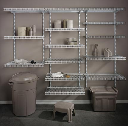 Garage Wire Shelving Fast Track Hudson Valley Ny Rylex