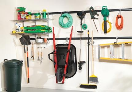 Garage Storage For Gardening, Garden Tool Garage Organization