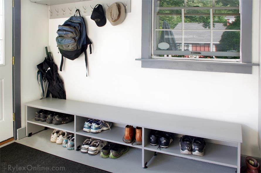 Boot And Shoe Garage Storage Cabinet