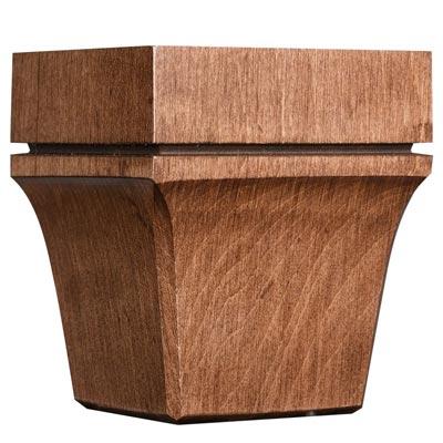 Cabinet & Closet Accent Feet | Wood | Orange County, NY