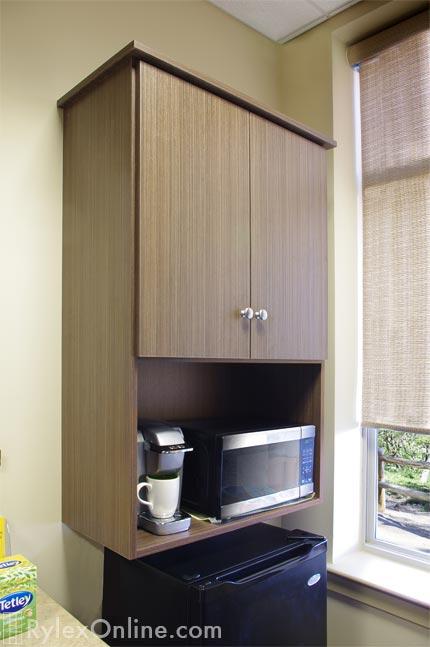... Coffee Maker Cabinet ...