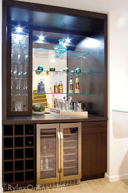 Custom Home Bar Wine Storage New City Rylex Custom