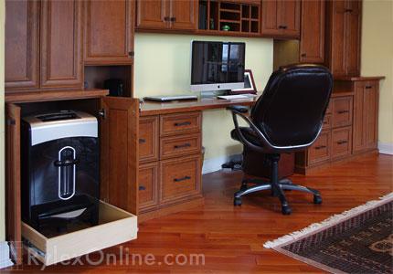 Home Office Orange County Ny Rylex Custom Cabinetry