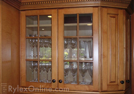 Solid Wood Kitchen Cabinets Glass Door Inserts Warwick Ny