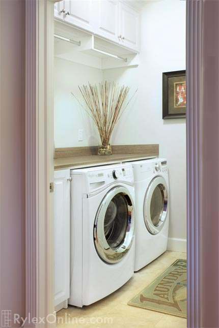 Wall to Wall Laundry Folding Counter