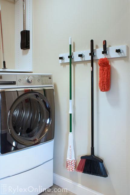 Laundry Room High Ceilings Telescoping Rod Salisbury