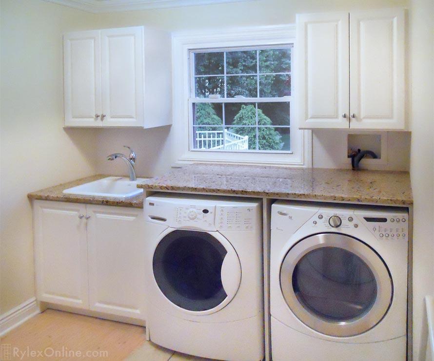 Laundry Cabinets With Folding Counter Orange County Ny