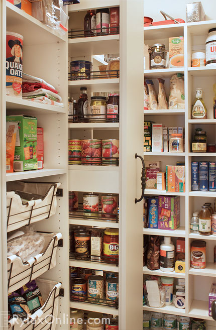 Pantry Pull Out Storage