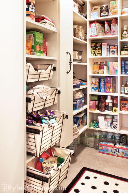 ... Pantry Stock Closet ...