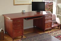 Solid Cherry Wood Desk